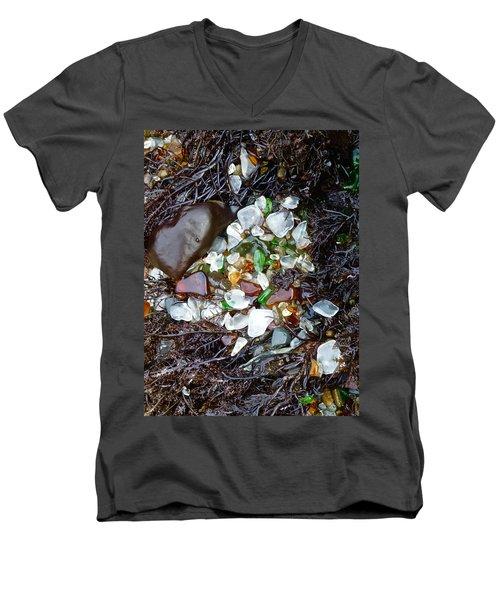 Sea Glass Nest Men's V-Neck T-Shirt