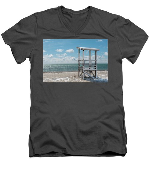 Sea Gull Beach #2 Men's V-Neck T-Shirt