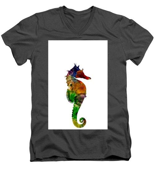 Sea Horse Men's V-Neck T-Shirt