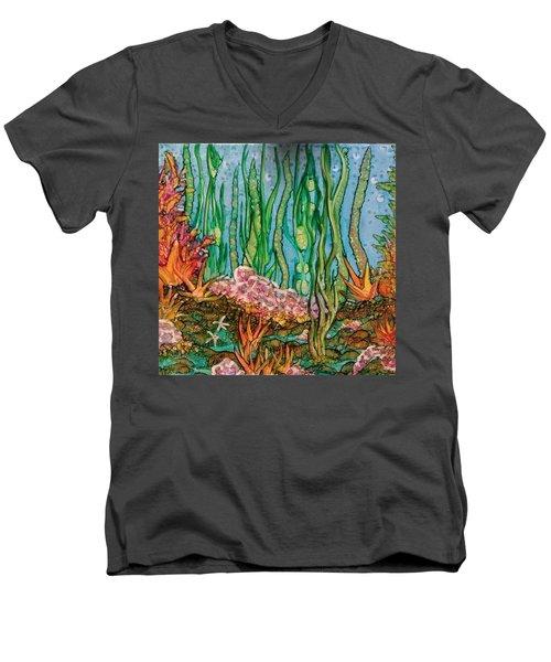 Sea Life Men's V-Neck T-Shirt