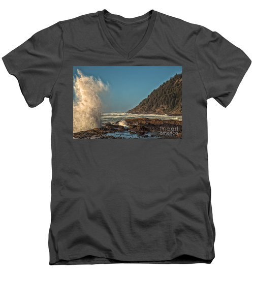 Sea Monster Men's V-Neck T-Shirt