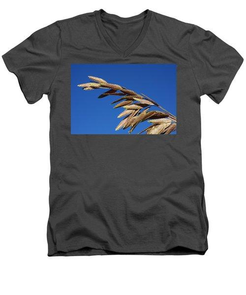 Sea Oats Men's V-Neck T-Shirt