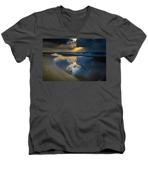 Sea Reflections Men's V-Neck T-Shirt