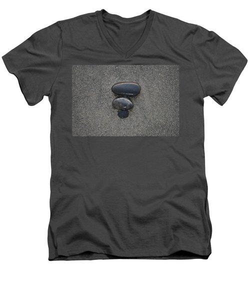 Sea Side Men's V-Neck T-Shirt