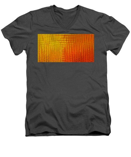 Sea Song Sun Rise Men's V-Neck T-Shirt by Stephanie Grant