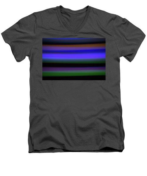 Sea Stripes Men's V-Neck T-Shirt