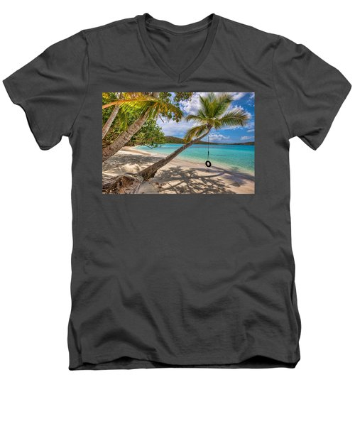 Sea Swing Men's V-Neck T-Shirt