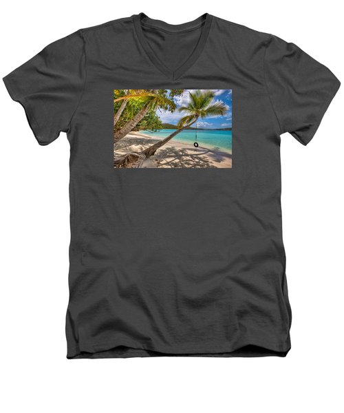Sea Swing Men's V-Neck T-Shirt