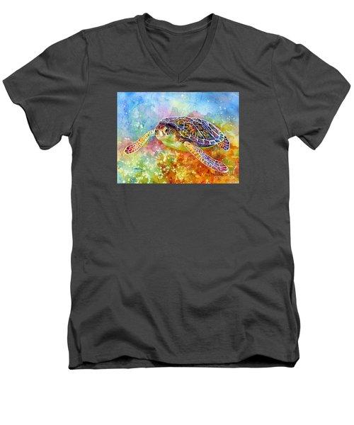 Sea Turtle 3 Men's V-Neck T-Shirt