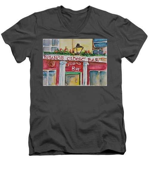 Seans Irish Pub Men's V-Neck T-Shirt