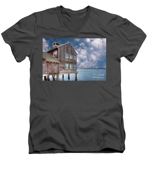 Seaport Village Men's V-Neck T-Shirt