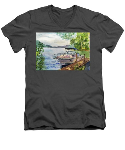 Seaquel At Rest Men's V-Neck T-Shirt
