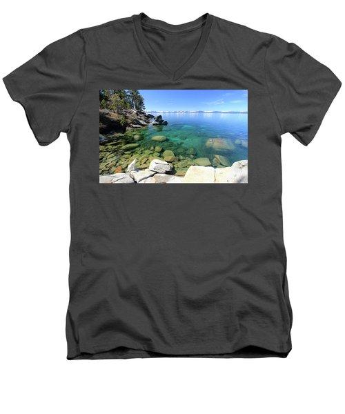 Search Her Depths Men's V-Neck T-Shirt