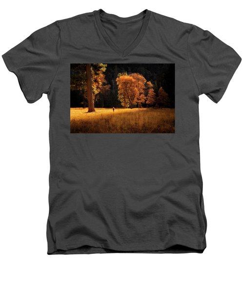 Searching For Light Men's V-Neck T-Shirt