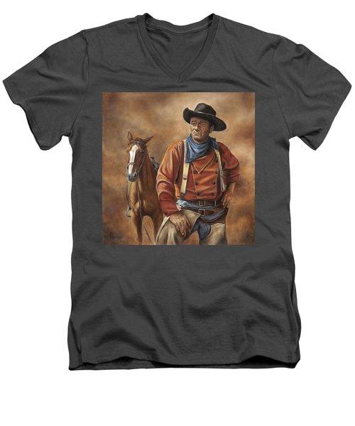 Searching Men's V-Neck T-Shirt