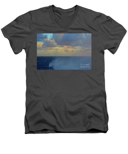 Seas The Day Men's V-Neck T-Shirt