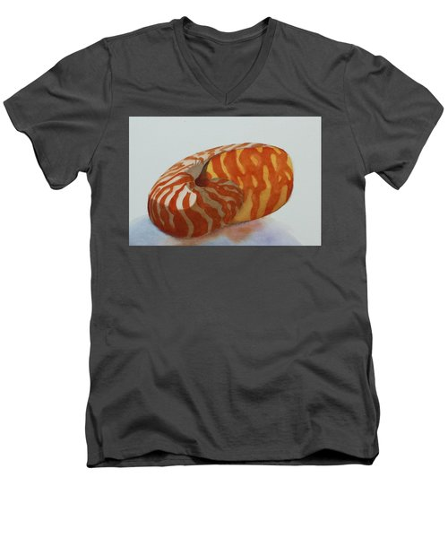 Seashell 1 Men's V-Neck T-Shirt