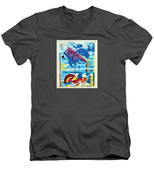 Seashore Holiday Men's V-Neck T-Shirt
