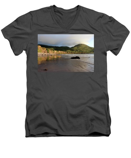 Seaside Reflections - County Kerry - Ireland Men's V-Neck T-Shirt
