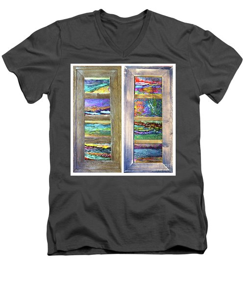 Seasides Men's V-Neck T-Shirt