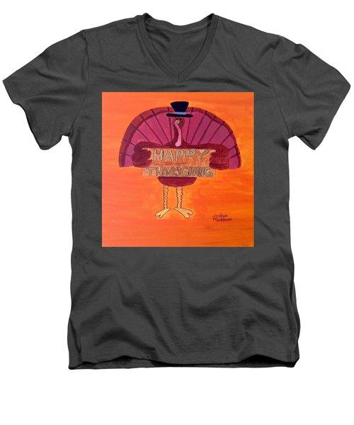 Season Holiday Men's V-Neck T-Shirt by Joshua Maddison