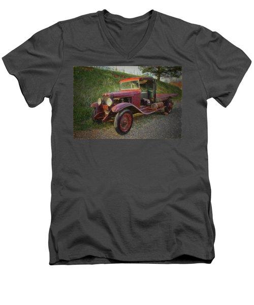 Seasoned Ol' Truck Men's V-Neck T-Shirt