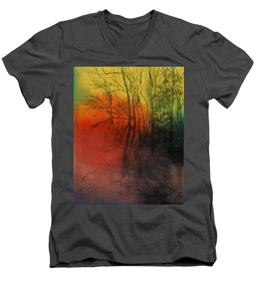 Seasons Change Men's V-Neck T-Shirt