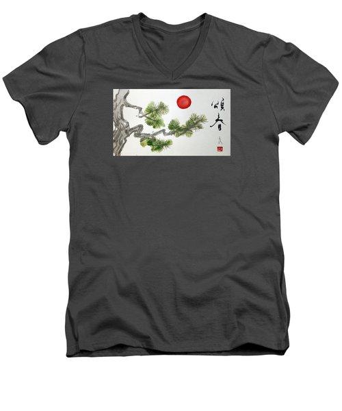 Season's Greetings Men's V-Neck T-Shirt