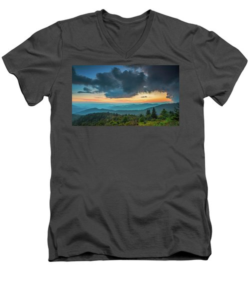 Men's V-Neck T-Shirt featuring the photograph Seasons by Joye Ardyn Durham