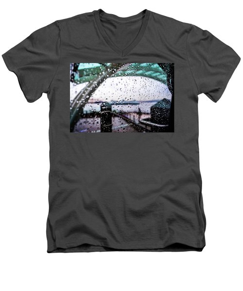 Seattle Drippin Men's V-Neck T-Shirt