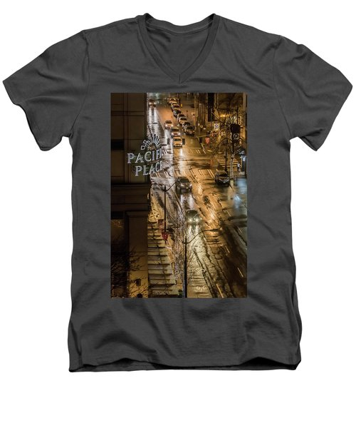 Seattle's 6th And Pine Men's V-Neck T-Shirt