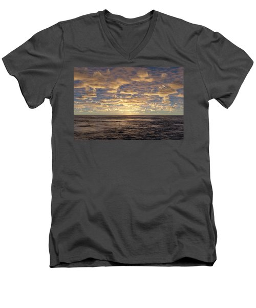 Men's V-Neck T-Shirt featuring the photograph Seaview by Mark Greenberg