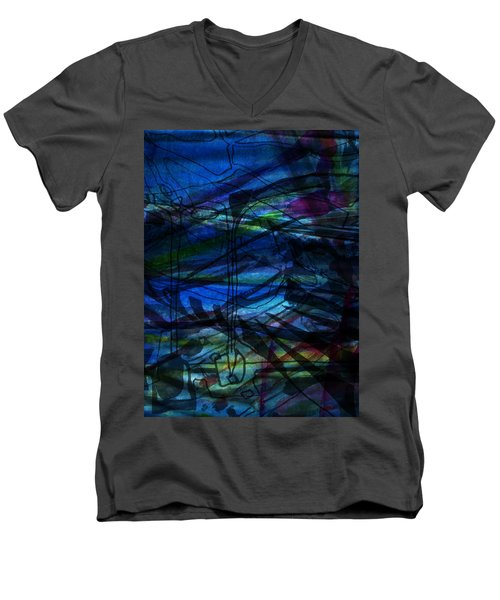 Seaweed And Other Creatures Men's V-Neck T-Shirt