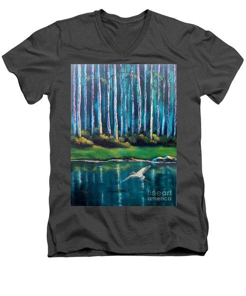 Secluded II Men's V-Neck T-Shirt