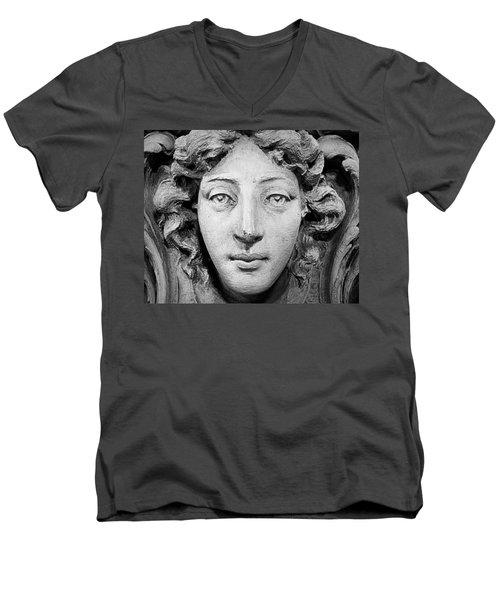 Second Chance Men's V-Neck T-Shirt by Joseph Skompski