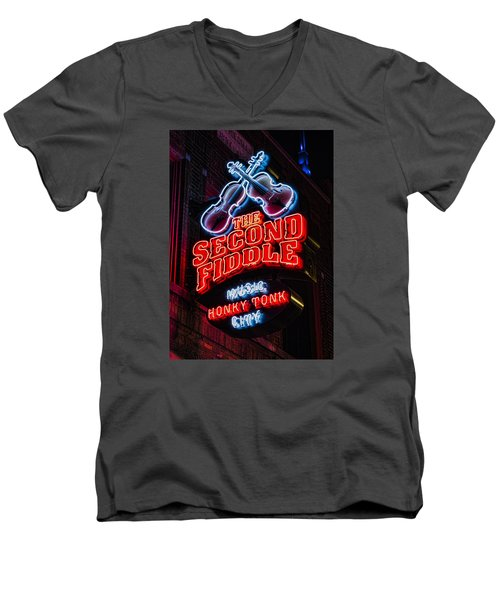 Second Fiddle Men's V-Neck T-Shirt