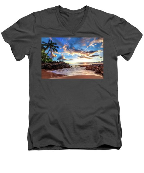 Secret Beach Men's V-Neck T-Shirt