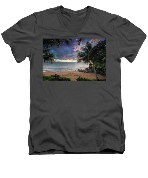 Secret Cove Men's V-Neck T-Shirt