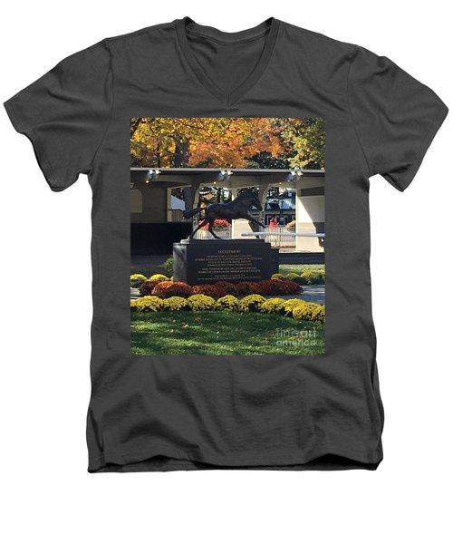 Secretariat 1 Men's V-Neck T-Shirt