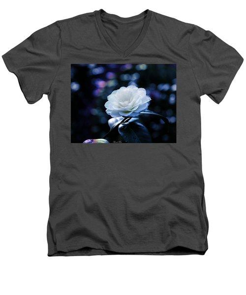 Secrets Of Nature Men's V-Neck T-Shirt by Bernd Hau