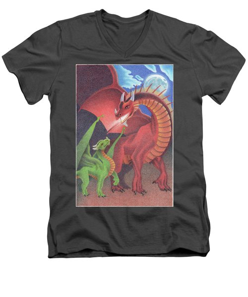 Secrets Of The Flame Men's V-Neck T-Shirt