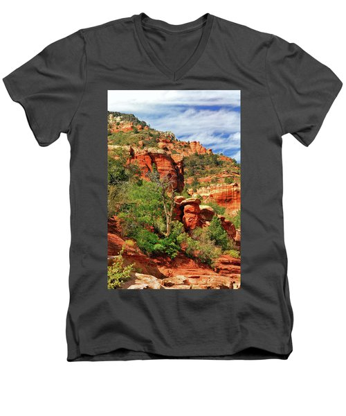 Sedona I Men's V-Neck T-Shirt