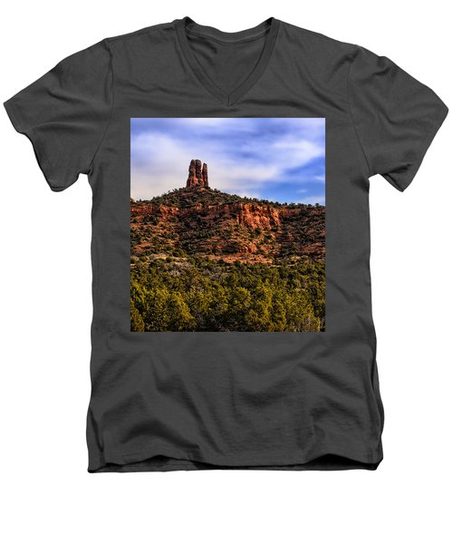 Sedona Morning 21 Men's V-Neck T-Shirt