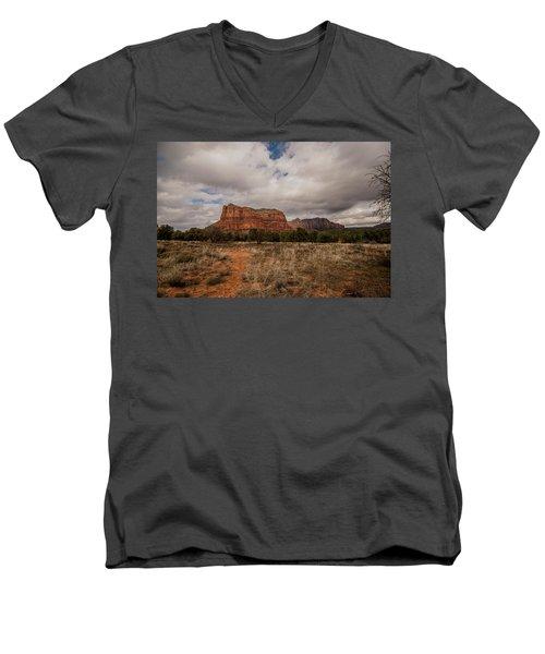 Sedona National Park Arizona Red Rock 2 Men's V-Neck T-Shirt