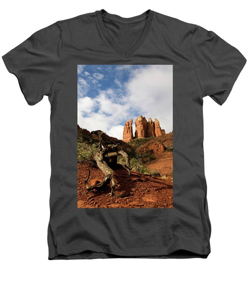Sedona Red Rocks No. 01 Men's V-Neck T-Shirt