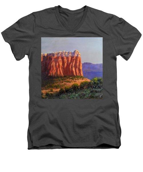 Sedona Red Rocks Men's V-Neck T-Shirt