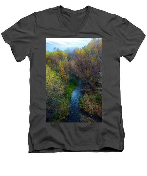 Sedona Stream Men's V-Neck T-Shirt