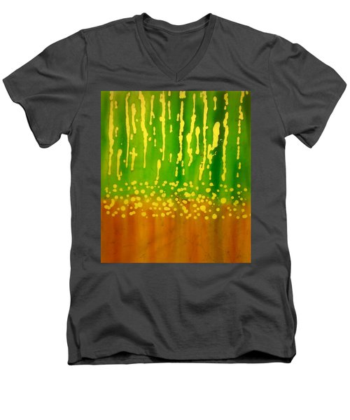 Seeds And Sprouts Men's V-Neck T-Shirt