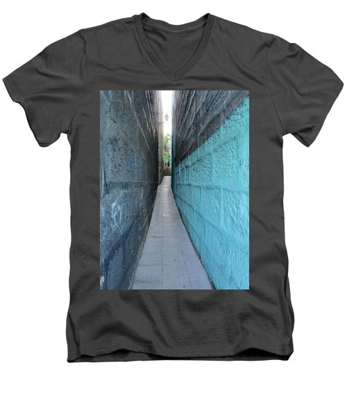 See Light At The End..... Men's V-Neck T-Shirt