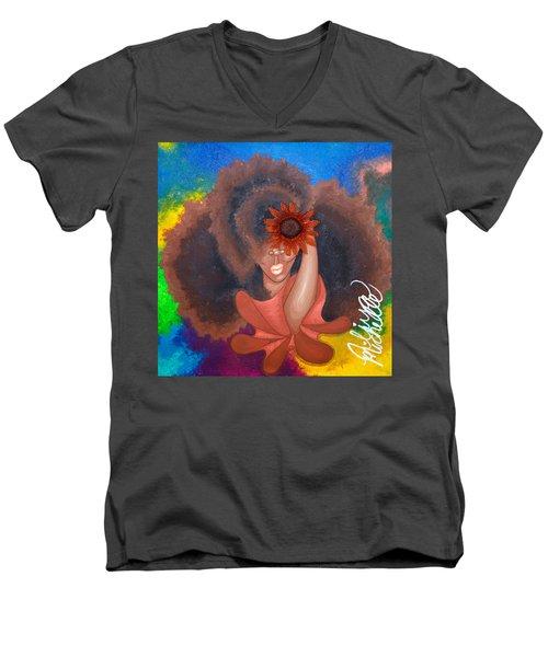 See No Evil Men's V-Neck T-Shirt